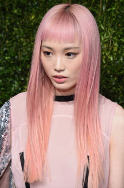 Pastel hair colours for Springs